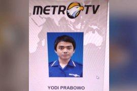 Polisi:  Editor Metro TV Yodi Prabowo dibunuh sekitar Rabu (8/7) tengah malam