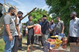 Korban puting beliung terima bantuan masa panik Pemko Banda Aceh