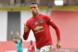 Manchester United siap sodorkan kontrak baru Mason Greenwood