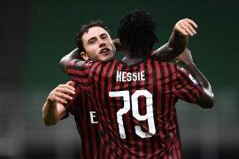 Milan masuk zona Eropa setelah hancurkan Bologna 5-1