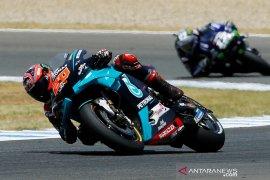 Fabio  Quartararo rebut pole position GP Andalusia, Marquez menarik diri