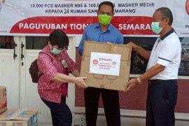 Porinti Semarang dan Perpit Jateng, Gelontorkan Bantuan APD Untuk 24 Rumah Sakit di Jateng