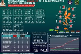 Pasien sembuh asal Ternate dan Tidore bertambah 10 orang