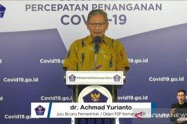 Jubir: Sembuh, 45.401 orang dari 86.521 kasus positif COVID-19