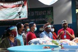 Badung edukasi pedagang pasar tradisional soal protokol kesehatan