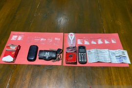 Polres Pohuwato tangkap pemilik sepuluh paket sabu
