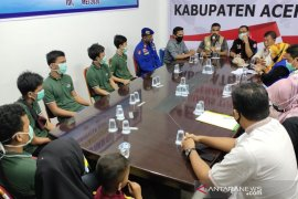 Enam nelayan yang dibebaskan otoritas Thailand tiba di AcehTimur, begini kondisinya