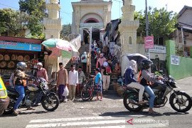 Pengunjung mulai padati Objek Wisata Sunan Muria Kudus