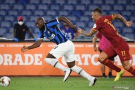 Klasemen sementara Liga Italia setelah Inter main imbang 2-2 lawan Roma