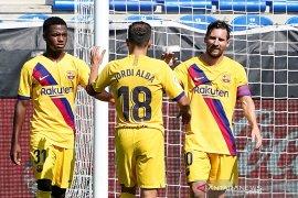 Barcelona tutup musim dengan pesta lima gol tanpa balas ke gawang Alaves