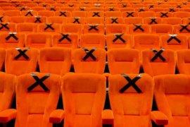 Sejumlah bioskop  di Bekasi dicek standar protokol kesehatannya