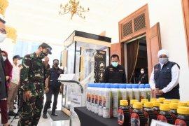 Kasad sumbang ribuan botol madu untuk tenaga kesehatan RSUD dr Soetomo
