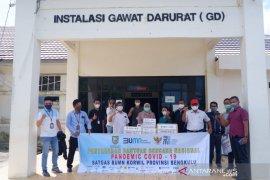 Satgas BUMN salurkan bantuan APD ke RSUD Bengkulu Selatan