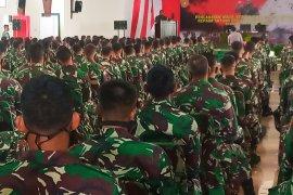 36 prajurit positif COVID-19 di Manokwari, kondisinya baik dan tanpa gejala