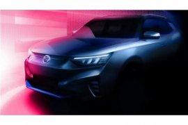 Produsen SsangYong publikasikan desain mobil listrik pertamanya