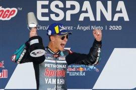 Ini yang dirasakan Fabio Quartararo saat juara pertama kali di MotoGP