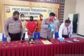 Sembunyikan narkoba di celana dalam, seorang IRT  ditangkap polisi