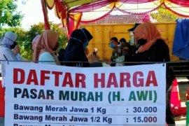Pemkab Bangka Barat gelar pasar murah jelang Idul Adha di Mentok