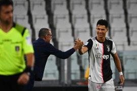 Cetak dua gol, Ronaldo bawa Juve unggul delapan poin di puncak klasemen