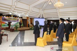 81 orang pejabat HSS dilantik dengan terapkan protokol kesehatan