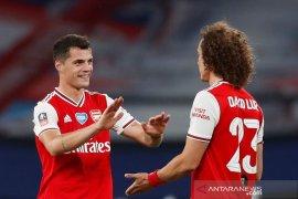 Manajer Arsenal Arteta sebut Xhaka bayar lunas kepercayaannya
