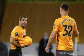 Liga Inggris: Wolverhampton kembali ke posisi keenam setelah libas Palace