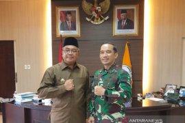 Kadispenad undang Bupati Aceh Barat ke Mabesad