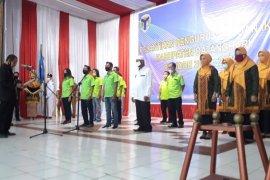 Bupati Batanghari hadiri pelantikan pengurus PWI Batanghari