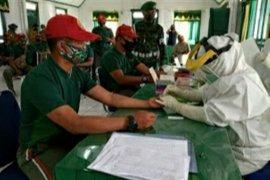 Puluhan anggota TNI di Kodim 0417/Kerinci jalani rapid test