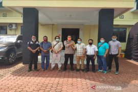 Kapolres ajak PWI dan media jaga Kamtibmas di Madina