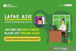 BPJAMSOSTEK permudah klaim JHT Lapak Asik online dengan bebas pilih lokasi kantor cabang