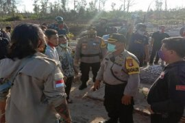 Polisi amankan  terduga penganiaya petugas COVID-19 Palangka Raya