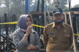Anggota DPD RI temui korban kebakaran rumah Betang Nanga Nyabau