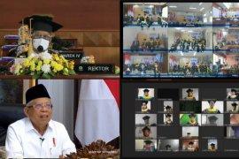 Wapres  Ma'ruf Amin  dorong UT dapat tingkatkan APK pendidikan tinggi