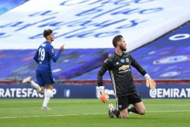 Pelatih MU pastikan David De Gea tak tertekan jelang lawan West Ham