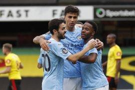 Liga Inggris: Dihajar Manchester City 4-0, Watford di ambang degradasi