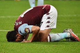 Kalahkan Arsenal, Aston Villa keluar dari zona degradasi Liga Premier