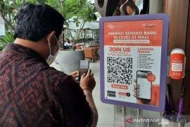 Mal di Denpasar luncurkan sistem 'barcode check-in' untuk pengunjung