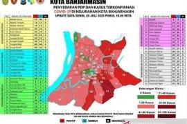 Enam kelurahan di Banjarmasin zona hijau