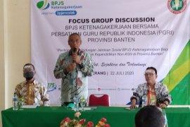 BPJAMSOSTEK Banten lirik ribuan guru honorer untuk diikutsertakan program Jamsostek
