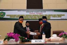 KUPA - PPAS Perubahan APBD 2020 Tapsel dan Ranperda diajukan untuk dibahas DPRD