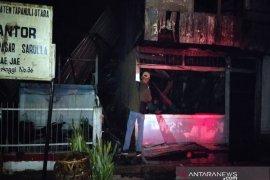 Elpiji meledak, Kantor Lurah di Pahae Taput tinggal puing