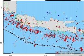 Jawa Barat tercatat daerah paling aktif gempa di Pulau Jawa