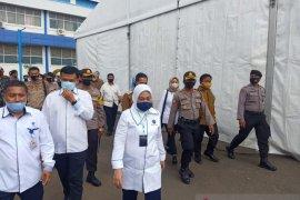 Polres Serang Kota Gelar Pengamanan Kunker Mennaker RI