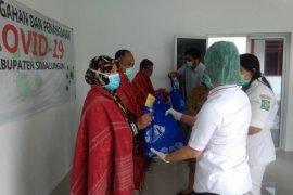 55,7 persen pasien positif COVID-19 di Indonesia dinyatakan sembuh