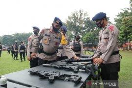 11 SSK Brimob Polda Sumut disiagakan pengamanan Pilkada 2020