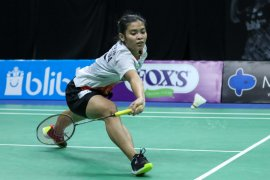 Gregoria menang dua set pada  laga perdana turnamen PBSI tanpa hambatan berat