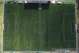 Peresmian lapangan untuk latihan Piala Dunia U 20