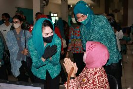 PKK Jatim gelar rapid test untuk 1.500 warga Kota Malang