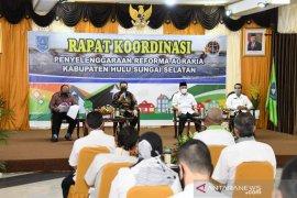 Paharangan pilot project kampung reforma agraria di HSS